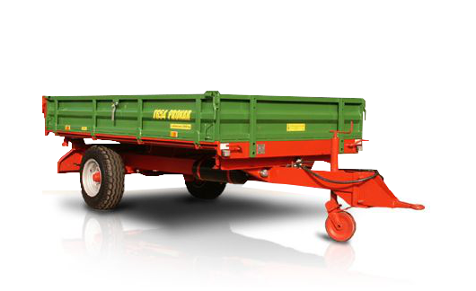 Przyczepa jednoosiowa T654
